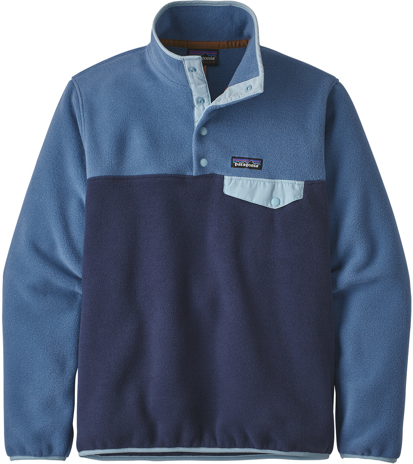 best website 7630f bfca1 Patagonia Lightweight Synchilla Snap-T Pullover Women neo navy/woolly blue